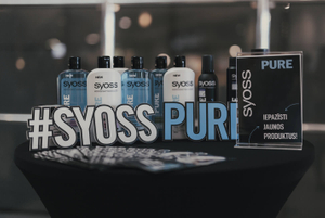 Syoss Pure stage